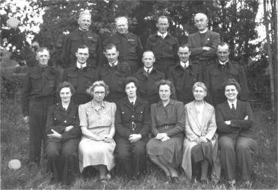 Horsted Keynes First Aid Volunteers. Click below for a copy of the picture with members names.