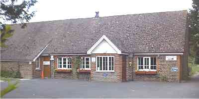 A small picture of our large village hall.