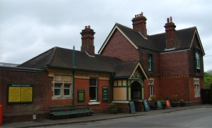 Horsted Keynes Station. Click on the picture to view full size.