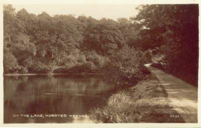 "Horsted Keynes: One of the beautiful ""Lakes""."