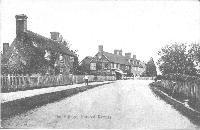 Horsted Keynes 1908, top end of the village.