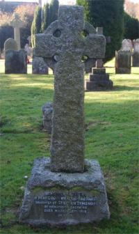 Louisa Mertindale's grave in Horsted Keynes churchyard.
