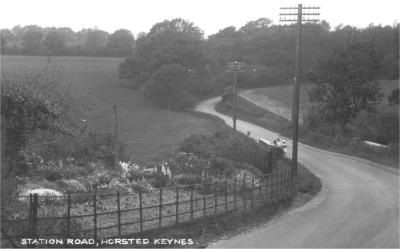 "Horsted Keynes: ""Station Road"". Where is this?"